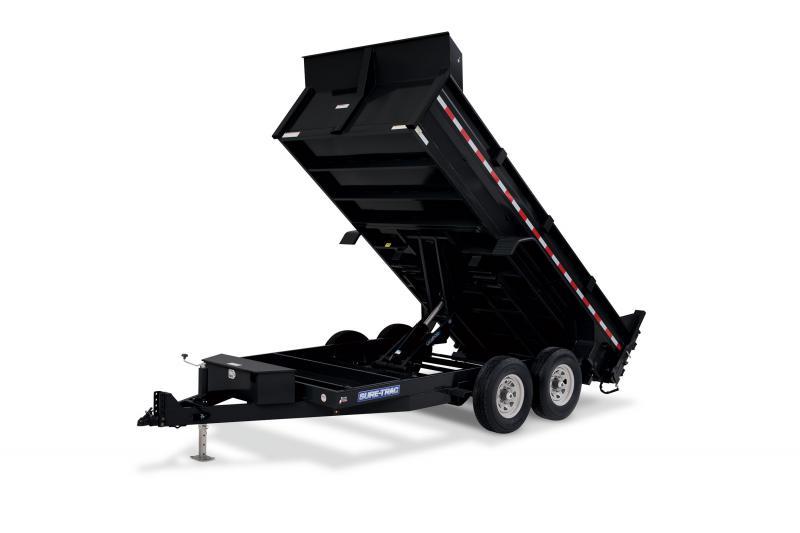 2020 Sure-Trac 7x14 14K Scissor Dump
