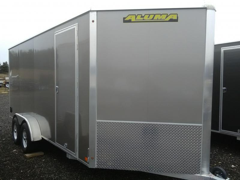 2019 Aluma ESW716TAR Enclosed Cargo Trailer