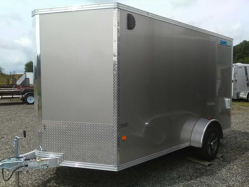 2018 Cargo Pro 7x12 Aluminum Enclosed Cargo Trailer