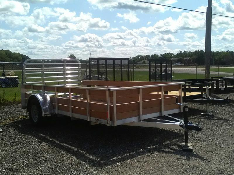2019 Legend 6x12 3-Board High Side Utility Trailer