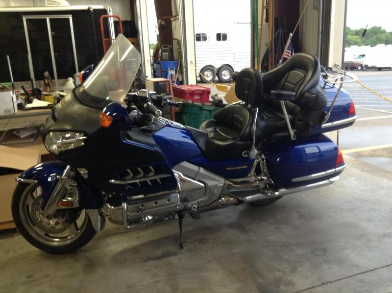 2001 Honda Goldwing Motorcycle