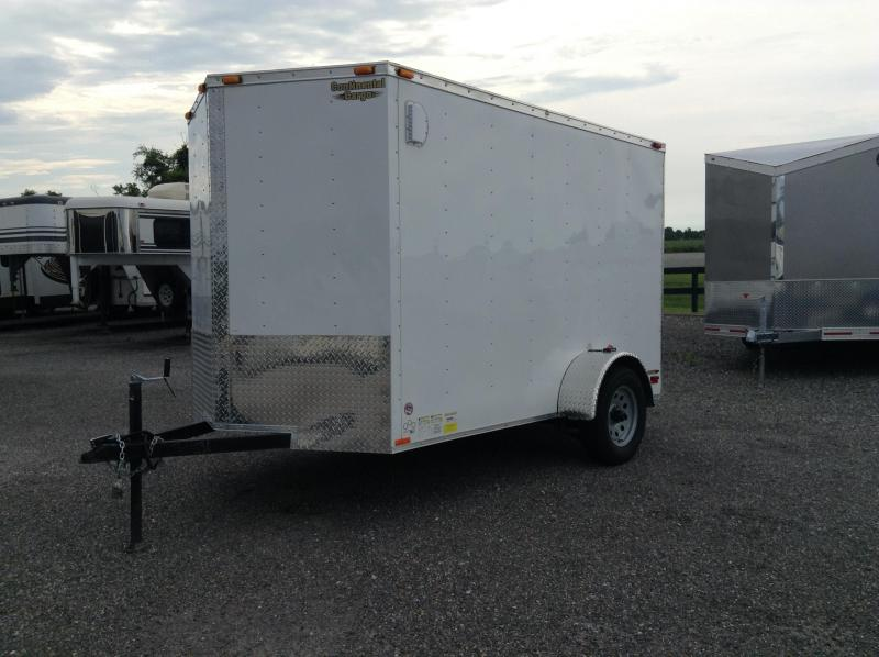 2016 Forest River Inc. Continental Cargo V-Series 6x10 Enclosed Cargo Trailer
