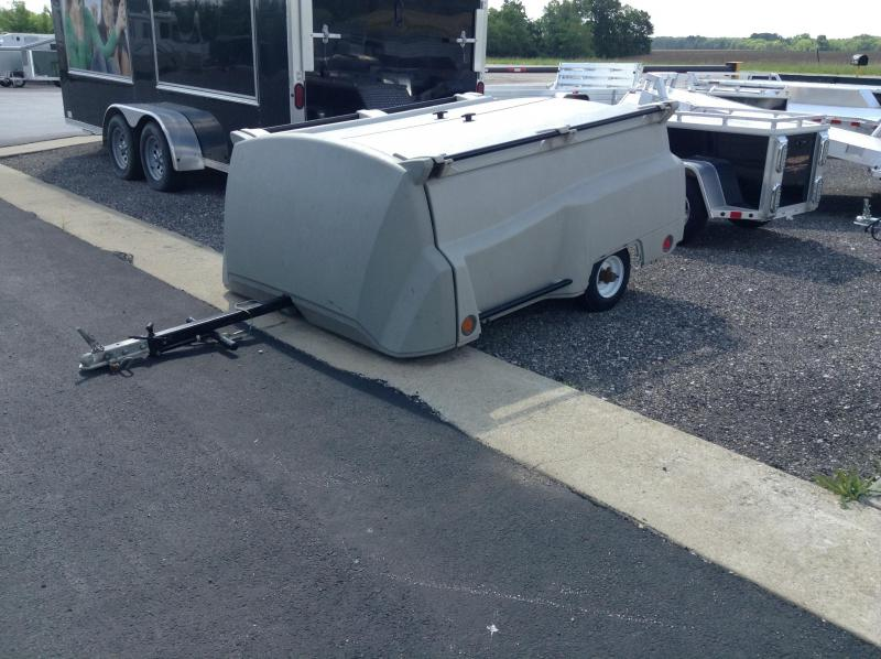 2009 Lippert Tow N Stow Enclosed Cargo Trailer