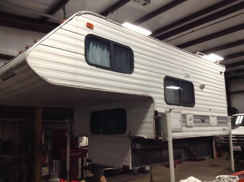 1994 Lance Truck Camper Manufacturing Camping / RV Trailer