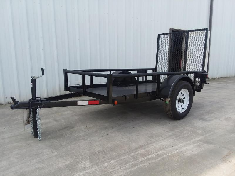 2019 R J Trailers Inc 4x8 2.9k Utility metal deck