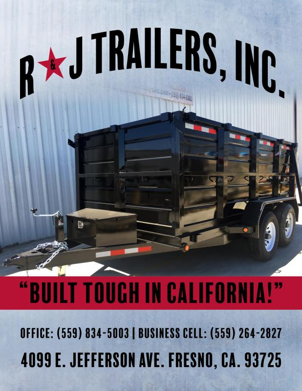 2018 R and J Trailers Inc dump landscape car hauler utility and custom Dump Trailer