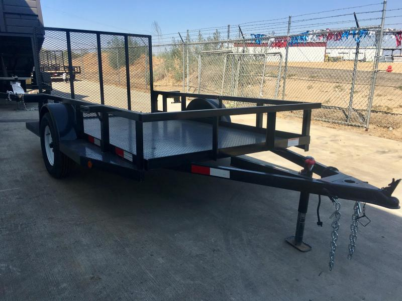 2018 R and J Trailers Inc 5 1/2x10 utility HD Utility Trailer