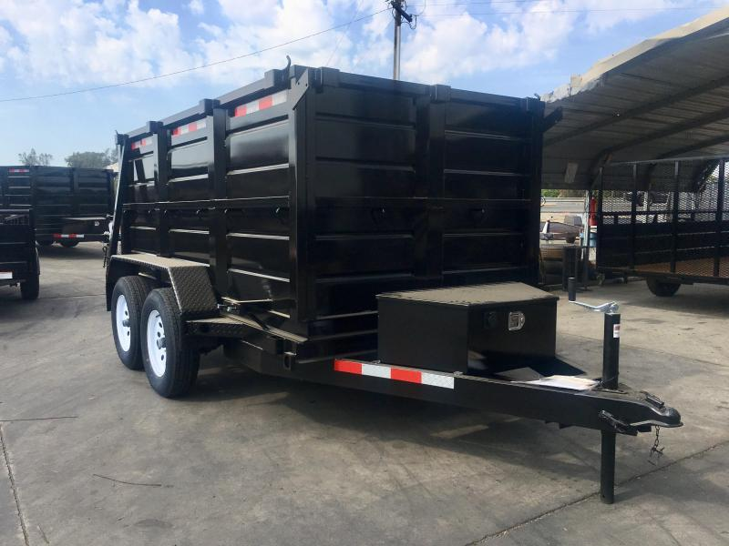 2018 R and J Trailers Inc 5X10 7K DUMP TRAILER 4' WALLS