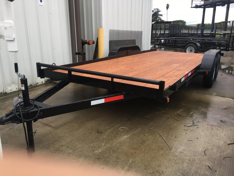 2018 R J Trailers Inc 7x16 7k car hauler Car / Racing Trailer