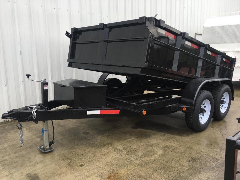 2018 R J Trailers Inc 6x10 10k dump trailer Dump Trailer
