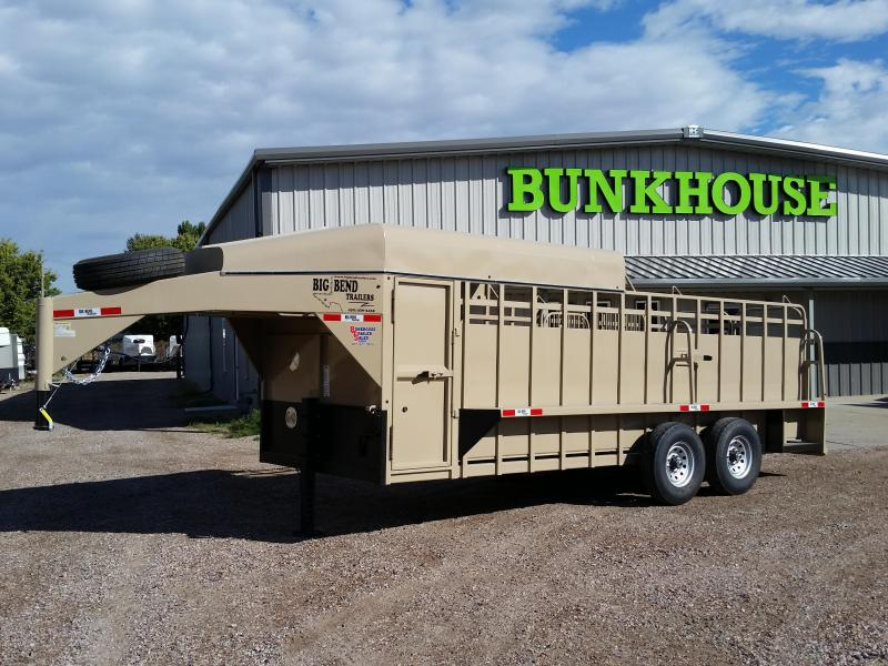 2019 Big Bend 20 3/4 TOP Livestock Trailer