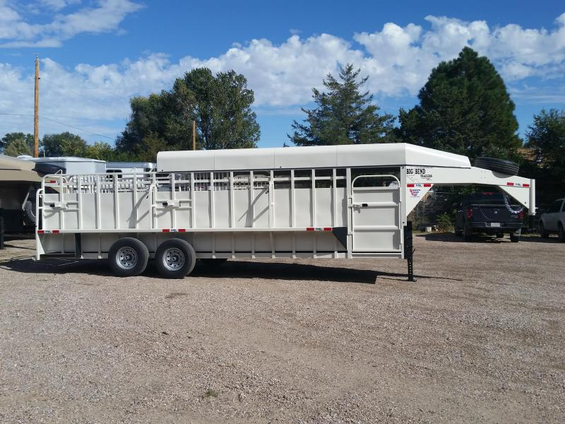 2019 Big Bend 24 FULL TOP Livestock Trailer