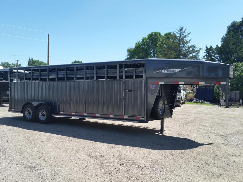 2019 Titan Trailers 24' RANCHER Livestock Trailer