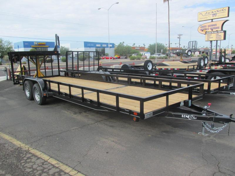 ULTRA LENGTH! NEW PRODUCT!!! 2017 Lonestar 24X 83 UTILITY Utility Trailer