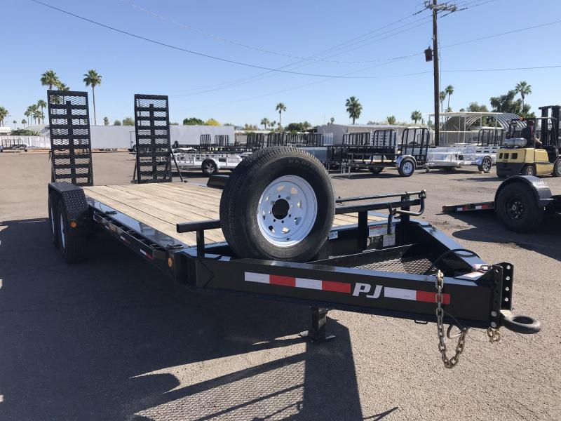 2018 PJ Trailers 83X20 Equipment Trailer