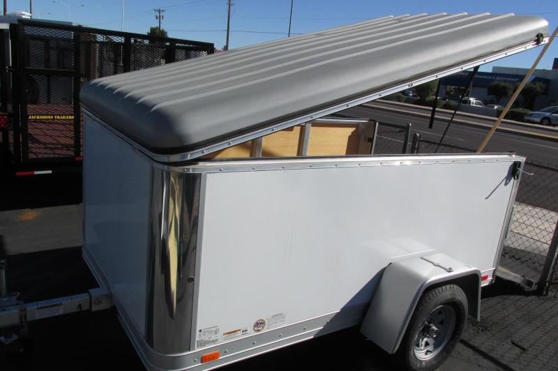 BLACK FRIDAY SALE! Haulmark FL5X8DS1 Enclosed Cargo Trailer