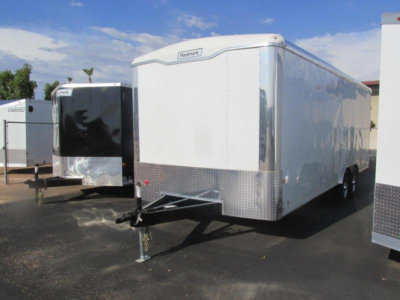 On Order 2018 Haulmark 8.5'x 22' Enclosed Custom Toy Hauler/Car Trailer