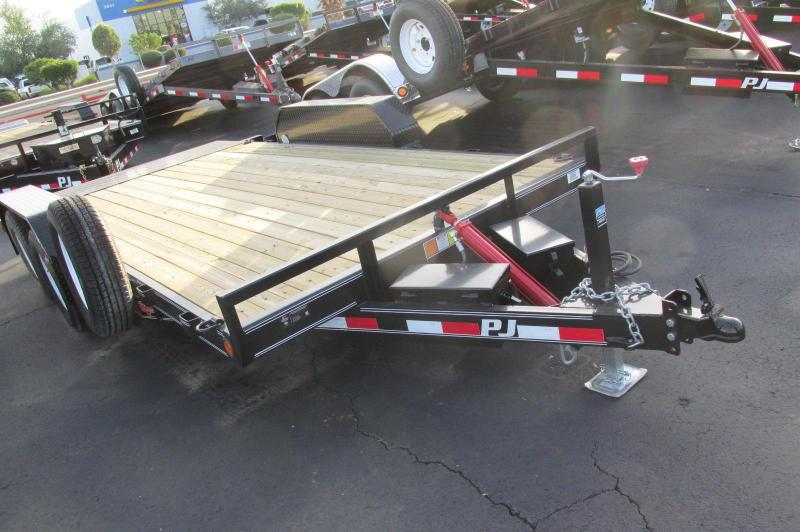 BLACK FRIDAY SALE! PJ QUICK TILT Utility Trailer GREAT TRAILER