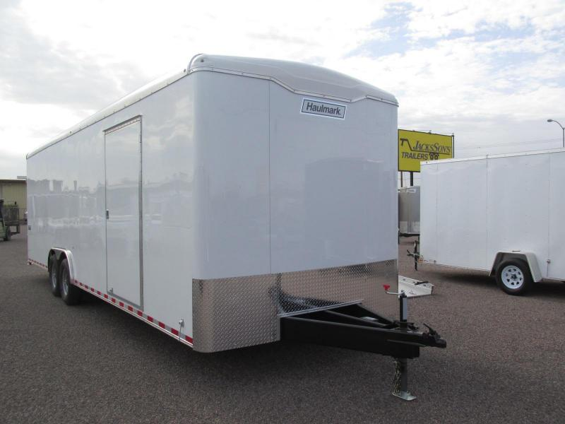 2018 Haulmark 8.5X28 Enclosed Cargo Trailer