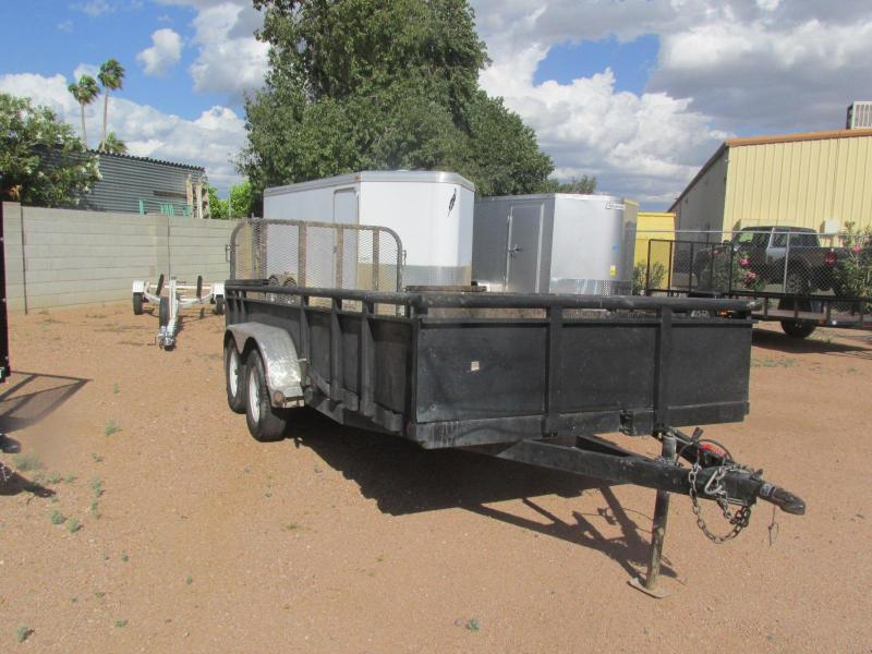 Reduced Price!!!! Used 2015 PJ Trailers 16 x 77 Utility Trailer Utility Trailer