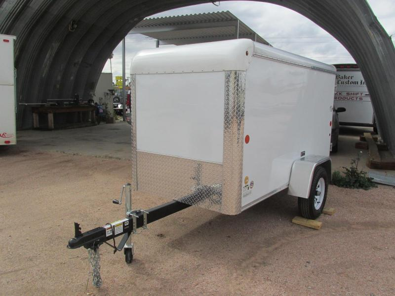 2019 Car Mate Trailers 4X8 Enclosed Cargo Trailer