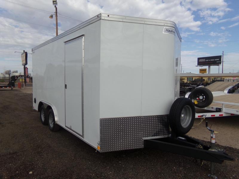 2019 Haulmark 16 X 8.5 ENCLOSED HAULER X-TRA HEIGHT Enclosed Cargo Trailer