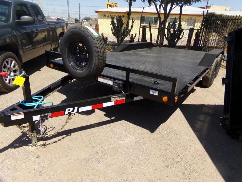 2020 PJ Trailers 18FT BUGGY HAULER 102 WIDE CAR HAULER STEEL DECK Car / Racing Trailer