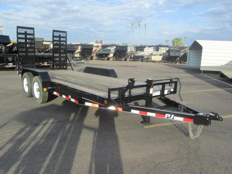 "2017 PJ Trailers 18' X 6"" Equipment Trailer"