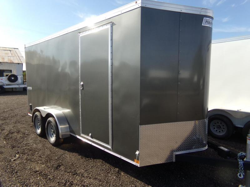 2019 Haulmark TSV 7 X 16 X-TRA HEIGHT UTV PACKAGE TRANSPORT ENC Enclosed Cargo Trailer