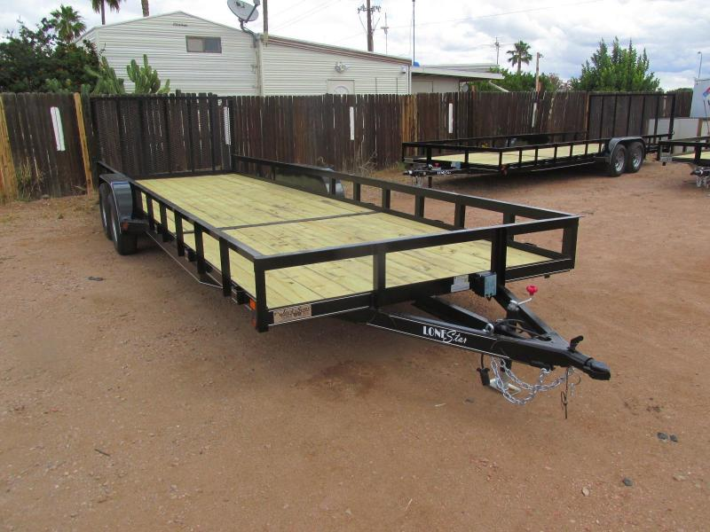 BRAND NEW PRODUCT! NOW IN STOCK!!! 2017 Lonestar 24' Utility Trailer