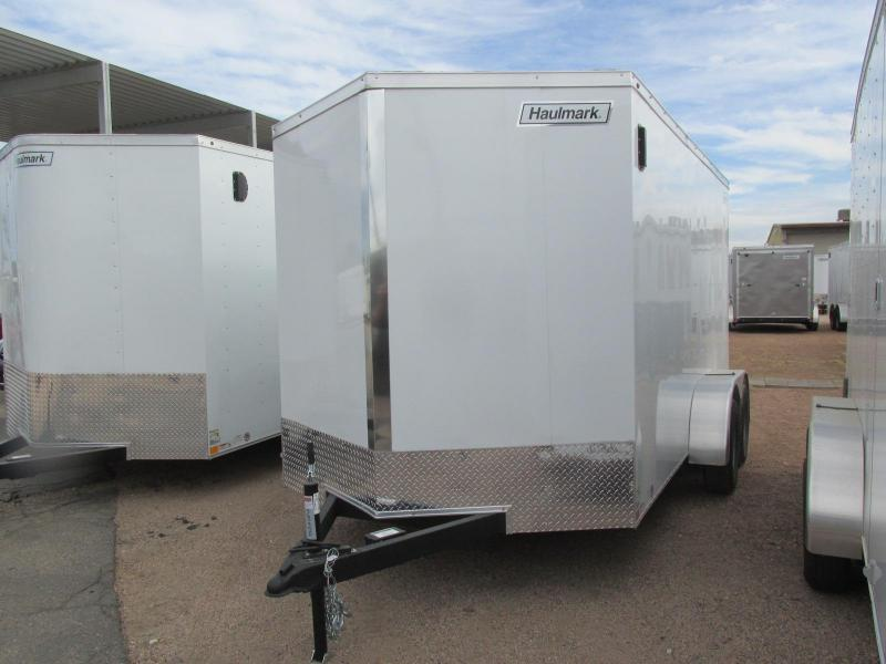 2018 Haulmark 7x14 Enclosed Cargo Trailer