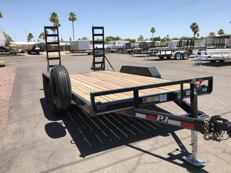 2017 PJ Trailers 83X14 Equipment Trailer