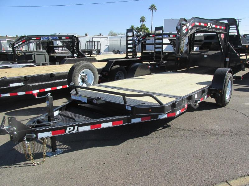 2018 PJ Trailers 81x16ft Equipment Trailer