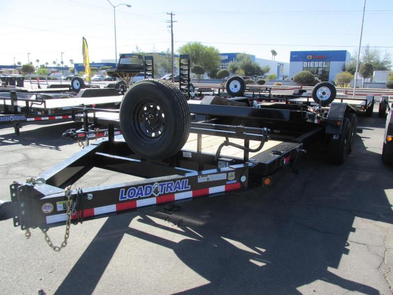 2018 Load Trail 83x20 Flatbed Trailer