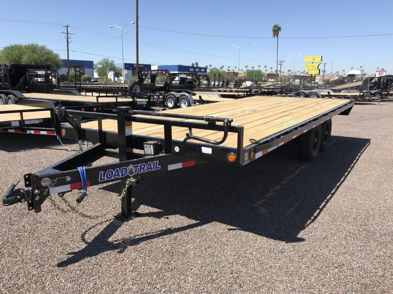 2019 Load Trail 102X20 DECKOVER PINTLE HOOK Car / Racing Trailer
