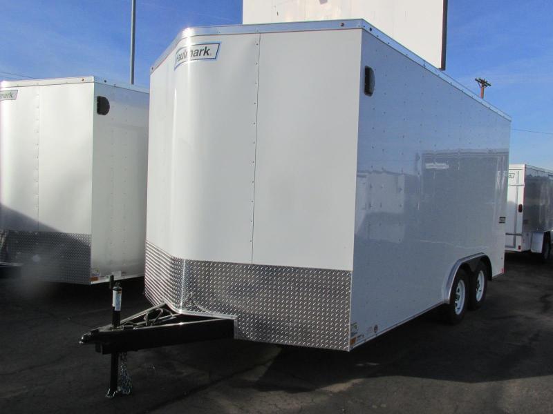 2018 Haulmark 8.5x16 Enclosed Cargo Trailer