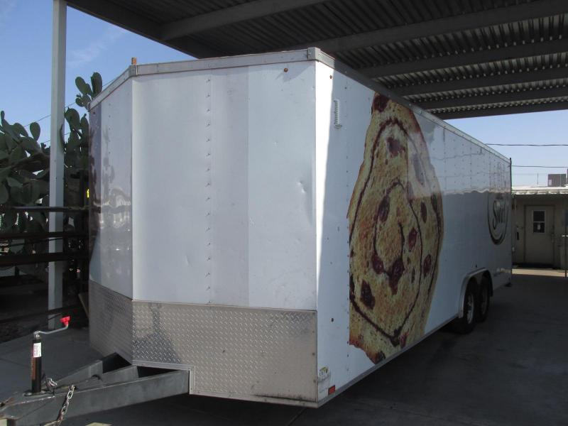 2014 Look Trailers 8.5X24 Enclosed Cargo Trailer