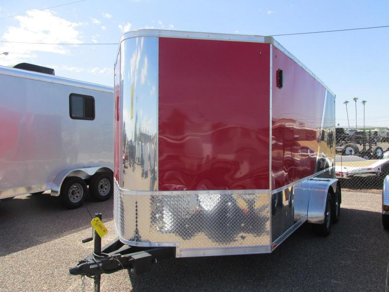 2018 Pace American 7X14 Enclosed Cargo Trailer