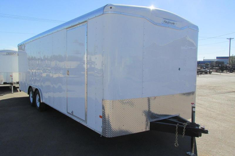Haulmark 8.5x24 Transport Enclosed Cargo Trailer High End