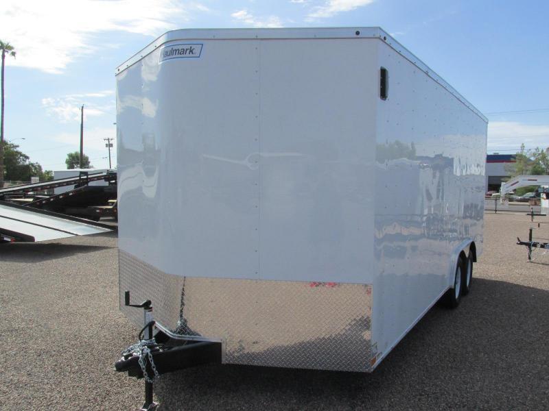 2018 Haulmark 8.5x18 Enclosed Cargo Trailer