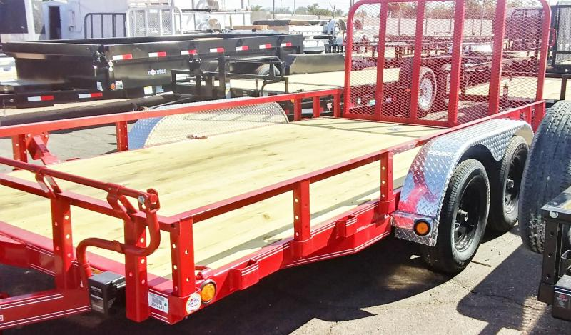 2019 PJ Trailers 14x83 TNDM CHANNEL UTILITY Utility Trailer
