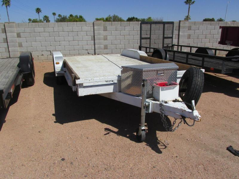 2007 PJ Trailers 83x18 Car / Racing Trailer