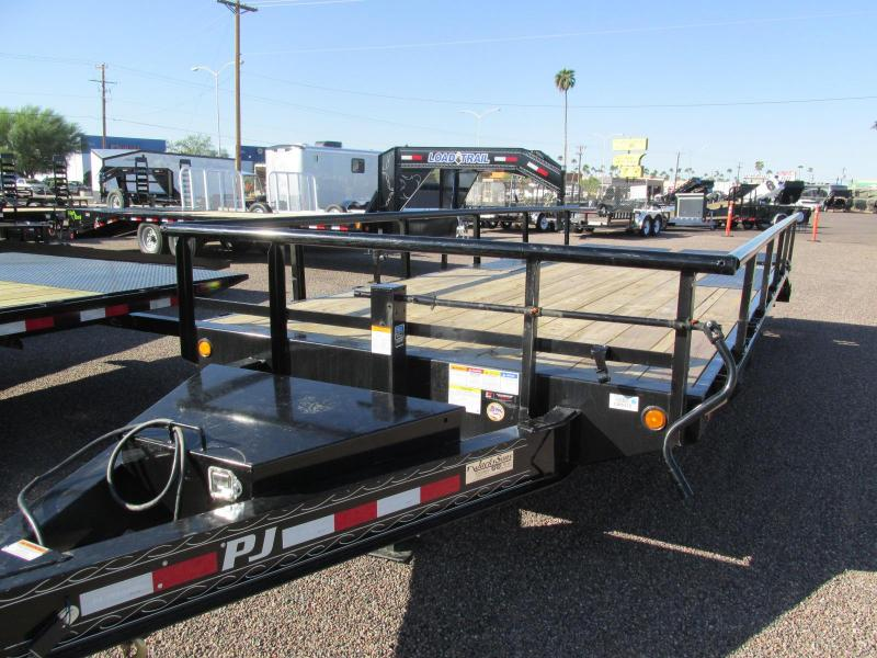 2019 PJ Trailers 102X20 Equipment Trailer