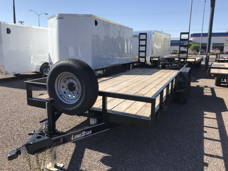 2019 Lonestar 83x20 EQUIPMENT Utility Trailer
