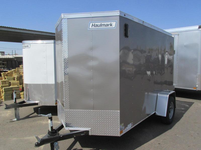 2018 Haulmark 5x10 Enclosed Cargo Trailer