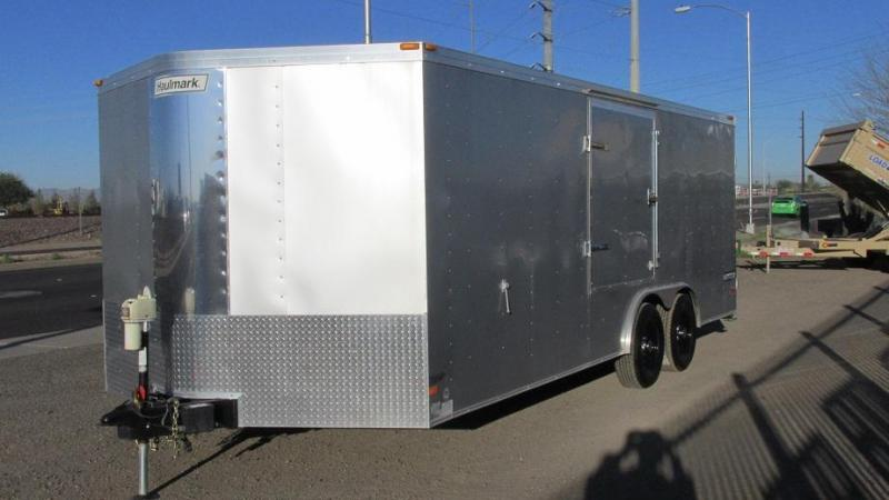 CLEARANCE SALE   Haulmark 8.5' x 20'  Transport V-Nose Cargo / Enclosed Trailer MANAGERS SPECIAL