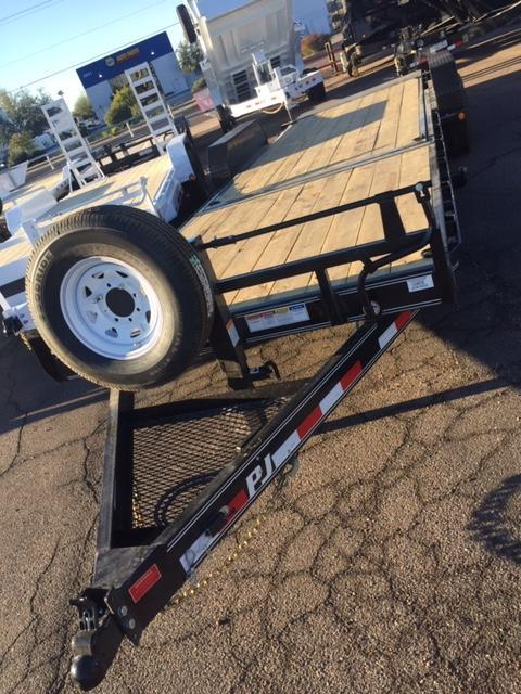 2019 82'x24' PJ Trailer Equipment 3-Year Warranty