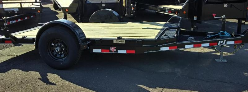 2020 PJ Trailers 13' SINGLE AXLE HD TILT Equipment Trailer