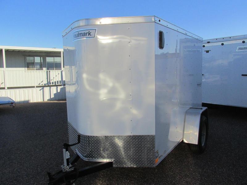 2019 Haulmark 5X8 Enclosed Cargo Trailer