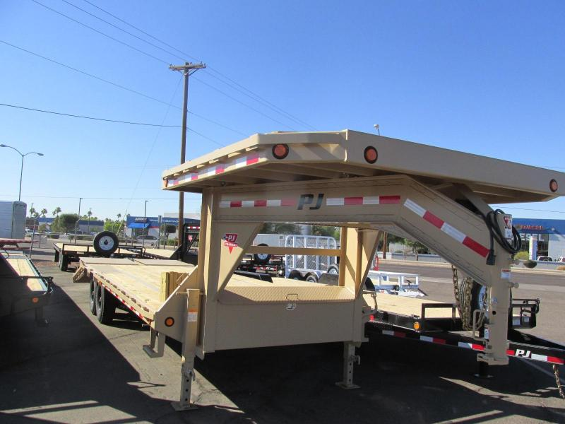 2018 PJ Trailers 102x25 Equipment Trailer